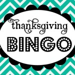 {Thanksgiving Bingo *Free Printable Download}