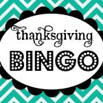 {Thanksgiving Bingo *Free Printable Download}