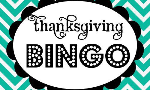 Thanksgiving Bingo *Free Printable Download