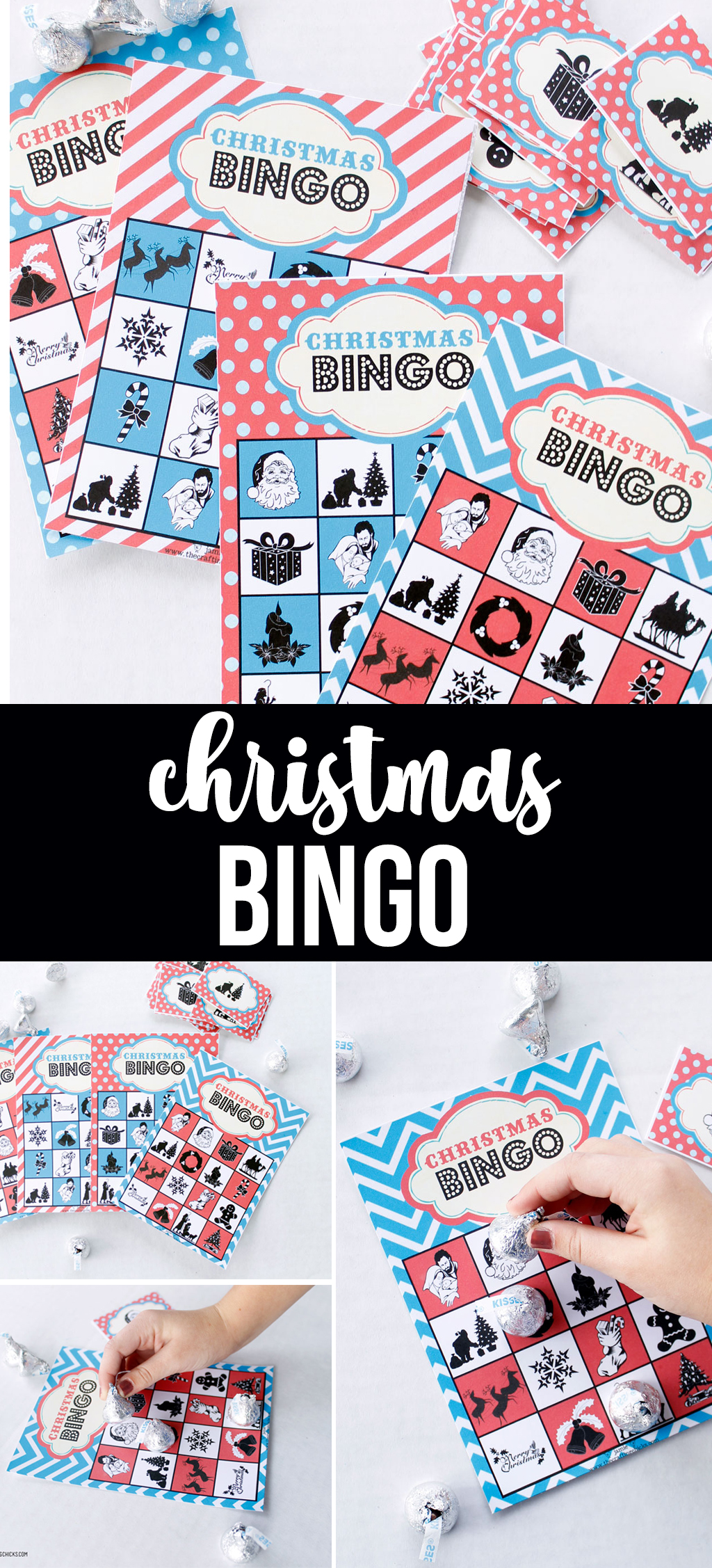 picture relating to Printable Christmas Bingo identified as Xmas Bingo *No cost Printable Obtain - The Creating Chicks