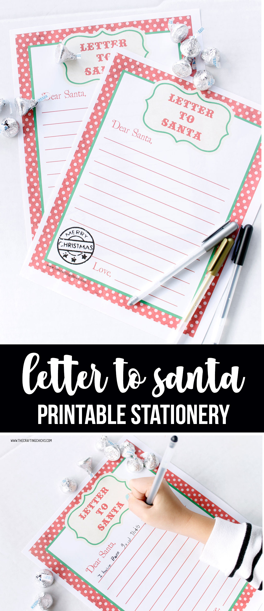 Letter to Santa Printable Stationery