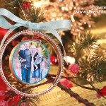Handmade Photo Ornaments-Fancy Bangle Style