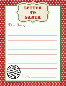 sm letter to santa big kid