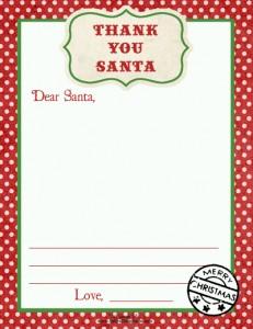 sm thank you santa