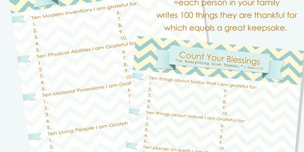 What is a Gratitude Challenge? Mixed with ***FREE PRINTABLES***!