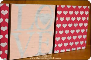 Poppy Seed Projects antiqued valentine plaques-5