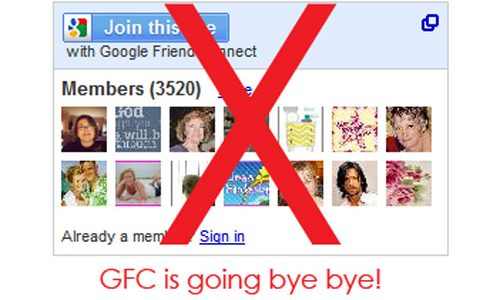 Ways to follow The Crafting Chicks {Google Friend Connect is going away!}