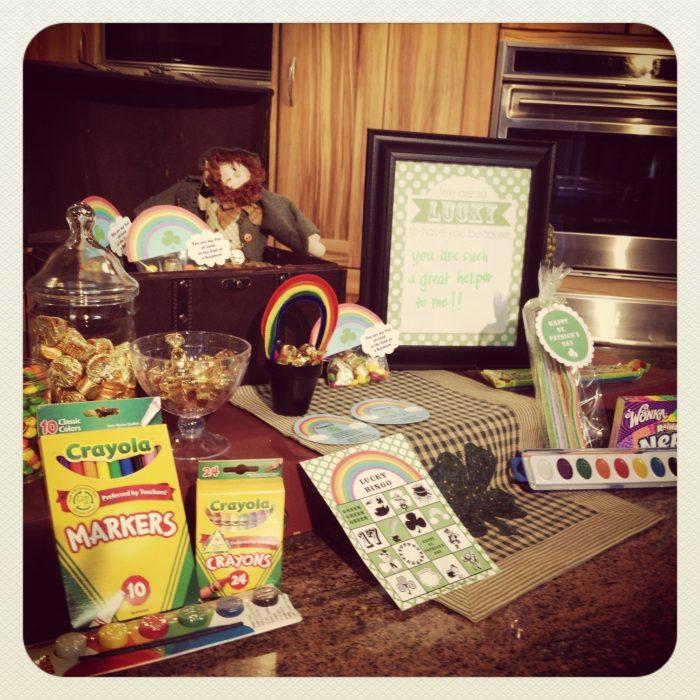 Simple St. Patrick's Day Ideas - Free Printable