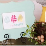 Easter Art & Free Printable