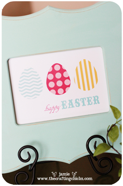 Happy Easter Free Wall Art