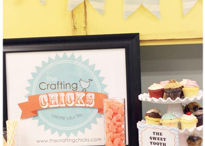 Blogger Craft Night {hosted with Poppyseed Projects}