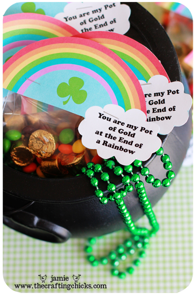 St. Patrick's Day Lucky Treasure Hunt & Treat Toppers