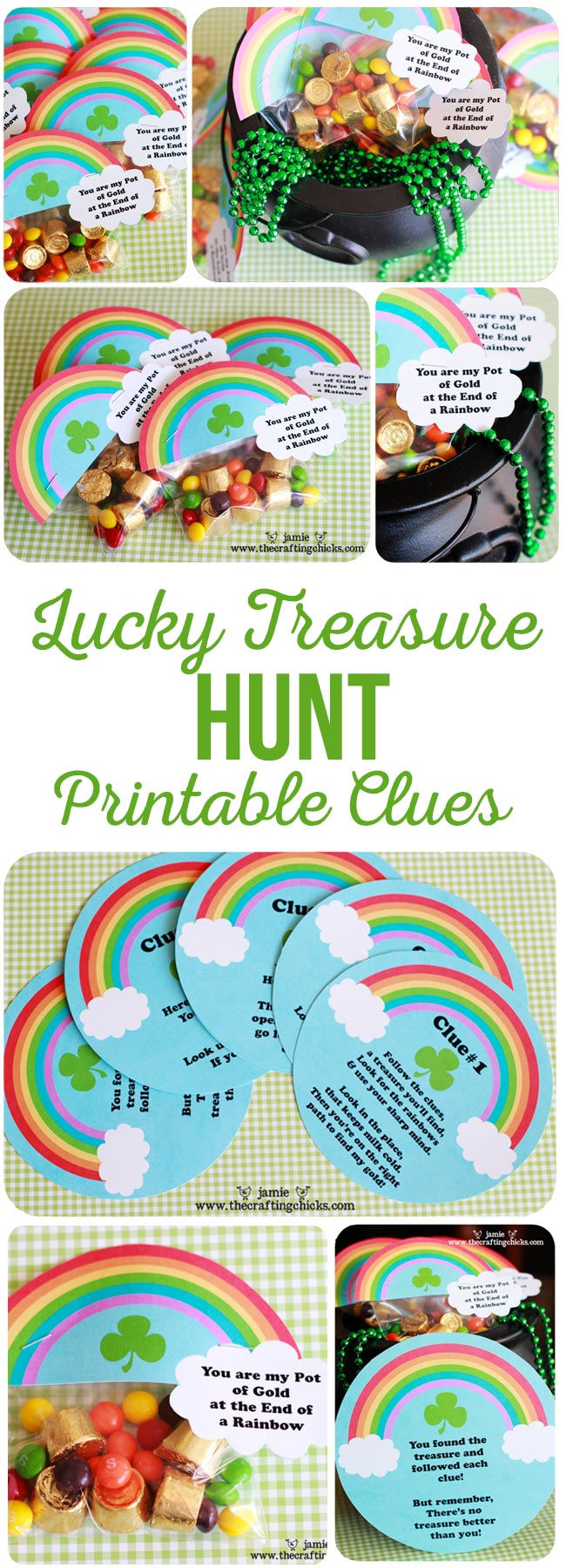 St Patrick Treasure Hunt Printable Clues