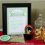 Simple St. Patrick's Day Ideas {free printable}