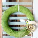 Vintage Window & Spring Wreath Updates :)