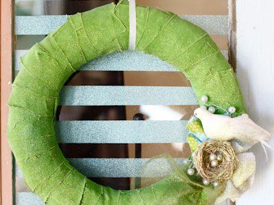 Vintage Window & Spring Wreath Updates :)