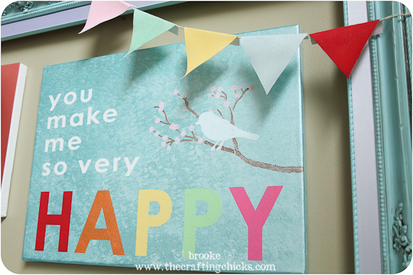 martha stewart crafts happy canvas