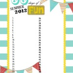 {Summer Fun Chart 2012 & Free Printable!}