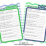 {Father's Day Questionnaire & Free Printable}