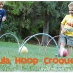 Hula Hoop Croquet