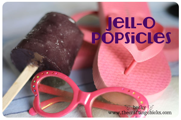 Jell-O Popsicles