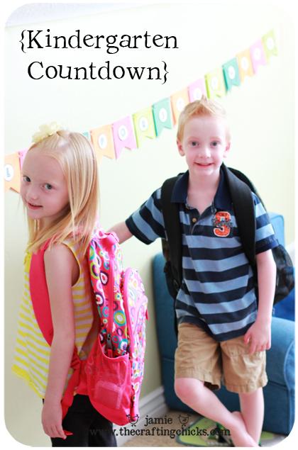 {Kindergarten Countdown-Back to School}