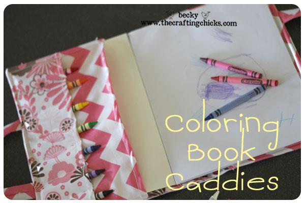 Coloring Book Caddie