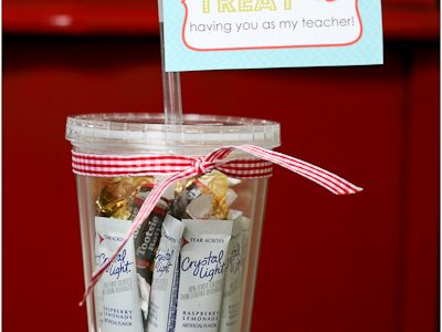Back to School Teacher Treat & Tag {Free Printable}