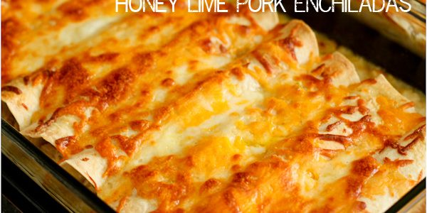 Honey Lime Pork Enchiladas Recipe