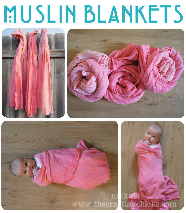 Swaddling And Receiving Blankets Classy DIY Muslin Swaddle Blankets The Crafting Chicks