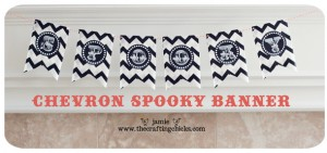 small spooky banner top photo