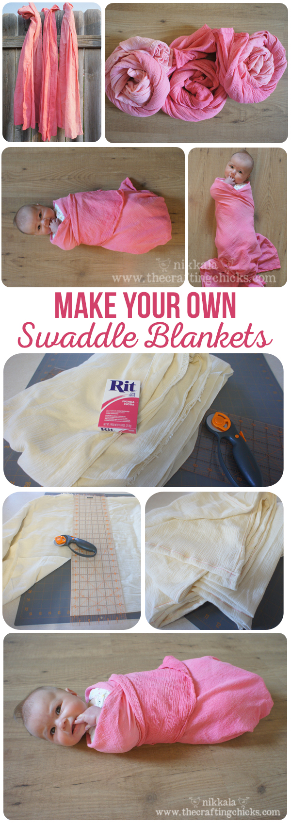 Make Your Own Swaddle Blanket