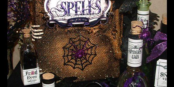 Spooky Book of Spells