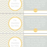 "Thanksgiving/Autumn Thankful Cards ""Free Printables"""