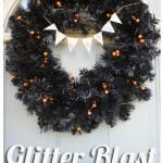 Glitter Blast Halloween Wreath