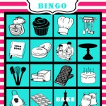 {Baking Bingo- Paris Bakeshop Party Part III}