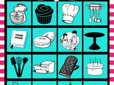 Baking Bingo- Paris Bakeshop Party Part III