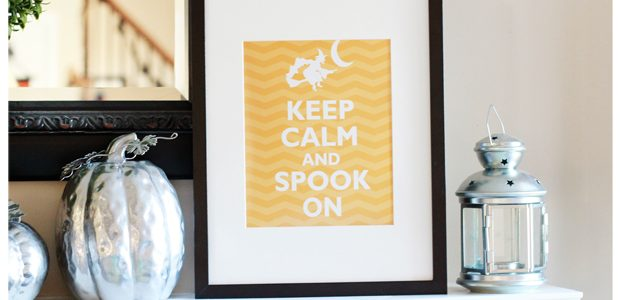 "{Keep Calm & ""SPOOK"" On}"