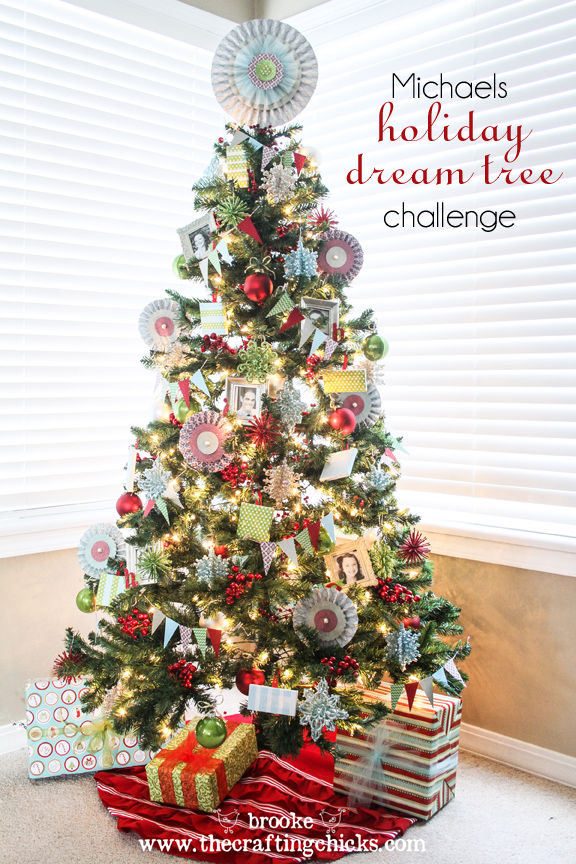 Michaels Holiday Dream Tree Challenge REVEAL!