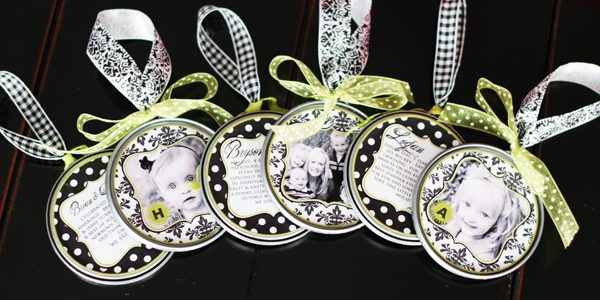 {Sassy Juice Top Photo Ornaments}