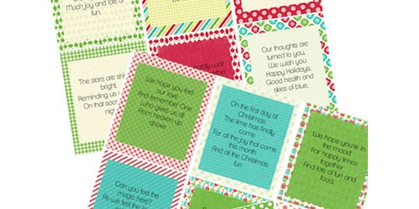 12 Day of Christmas Printables