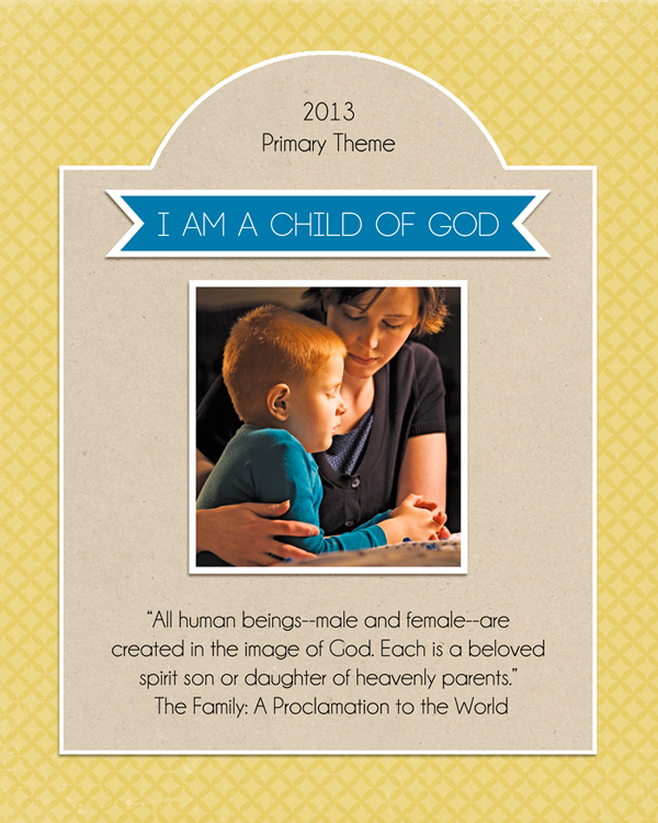 2013 LDS Primary Posters {free printables} - The Crafting Chicks