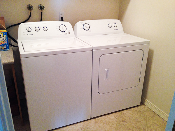Amana Washer Dryer Review and GIVEAWAY The Crafting Chicks