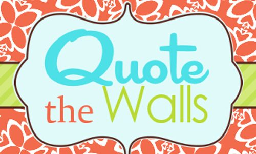 Quote the Walls {Giveaway}