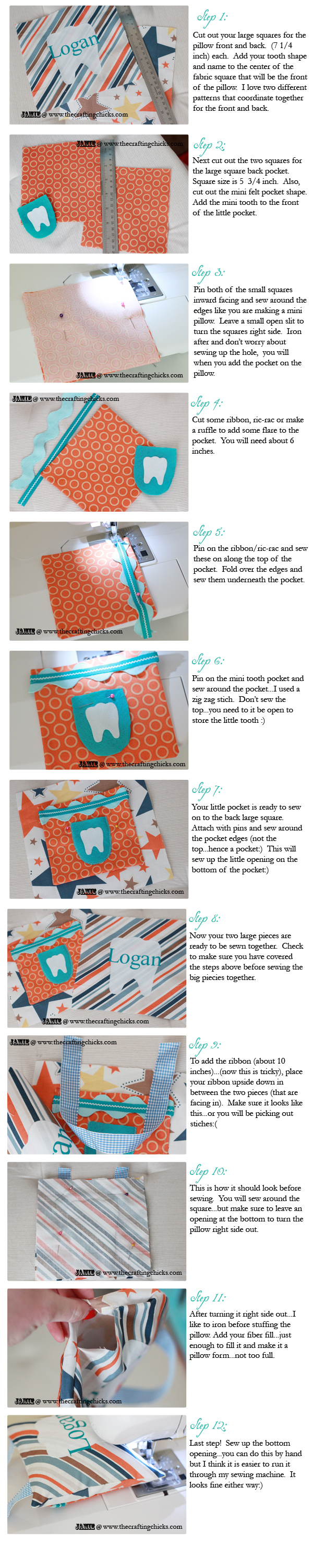 sm tooth fairy pillow tutorial