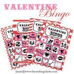 {Valentine Bingo & Free Printable}