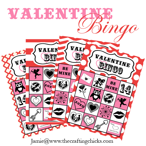 This is a picture of Valentine Bingo Free Printable with fourth grade