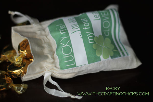 DIY St. Patrick's Day Lucky Me Bag