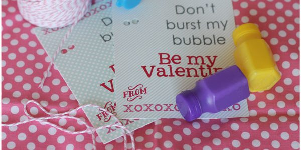 Don't Burst My Bubble Valentine