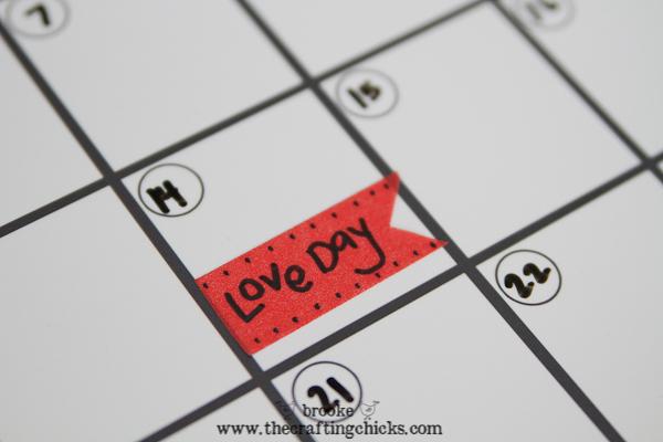 dry erase calendar -2994